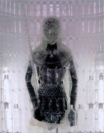 Pet Bottle Knight's Armor