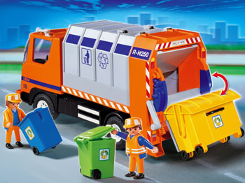 Recycle Toy Trucks Greensun Recycling Be Bright Go Green