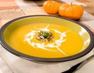 Pumpkin Soup from the Daily Green