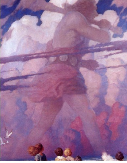 The Giant by N.C. Wyeth