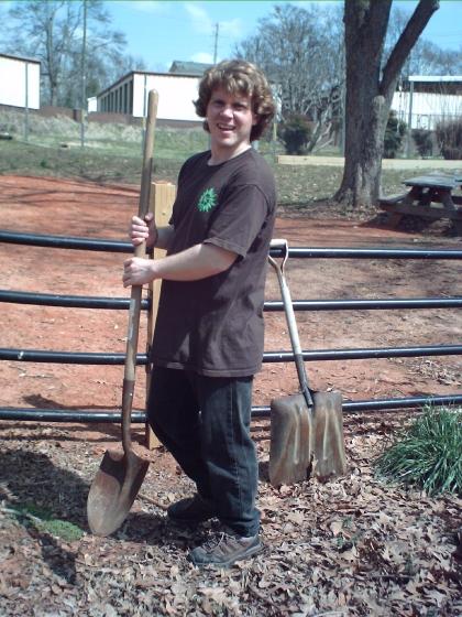 Community Garden groundbreaking