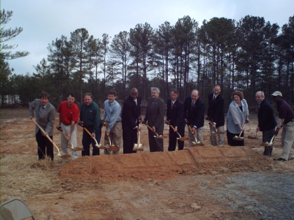 griffin Regional Recycling Hub Groundbreaking