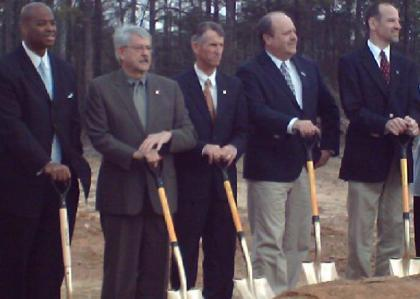 Regional Recycling Hub Groundbreaking