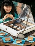 Make a solar oven in a recycled pizza box lined with aluminum foil.